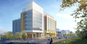 Artist Drawing of New Building
