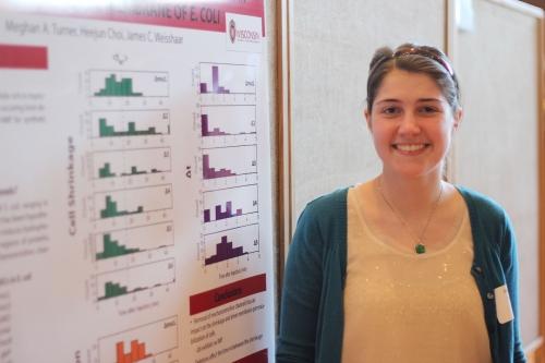 student at 2016 undergraduate symposium