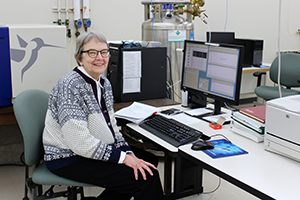 Dr. Martha Vestling, Mass Spectrometry Facility