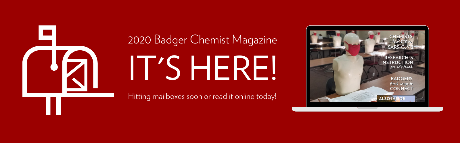 Badger Chemist Magazine IT'S HERE! Hitting Mailboxes Soon or Read Online Today!