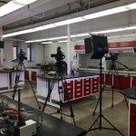 cameras in lab