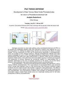 PhD Thesis Defense of Andjela Radmilovic. Click on Box link below for all content information in PDF format: https://uwmadison.box.com/s/04wwhjvrak3lp6mmit9we0v7cjb7n6w0